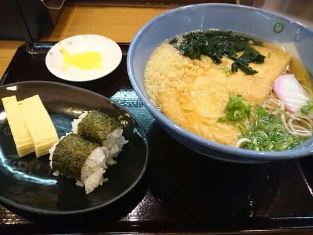 阪急そば梅田駅3階店:モリミドリさん