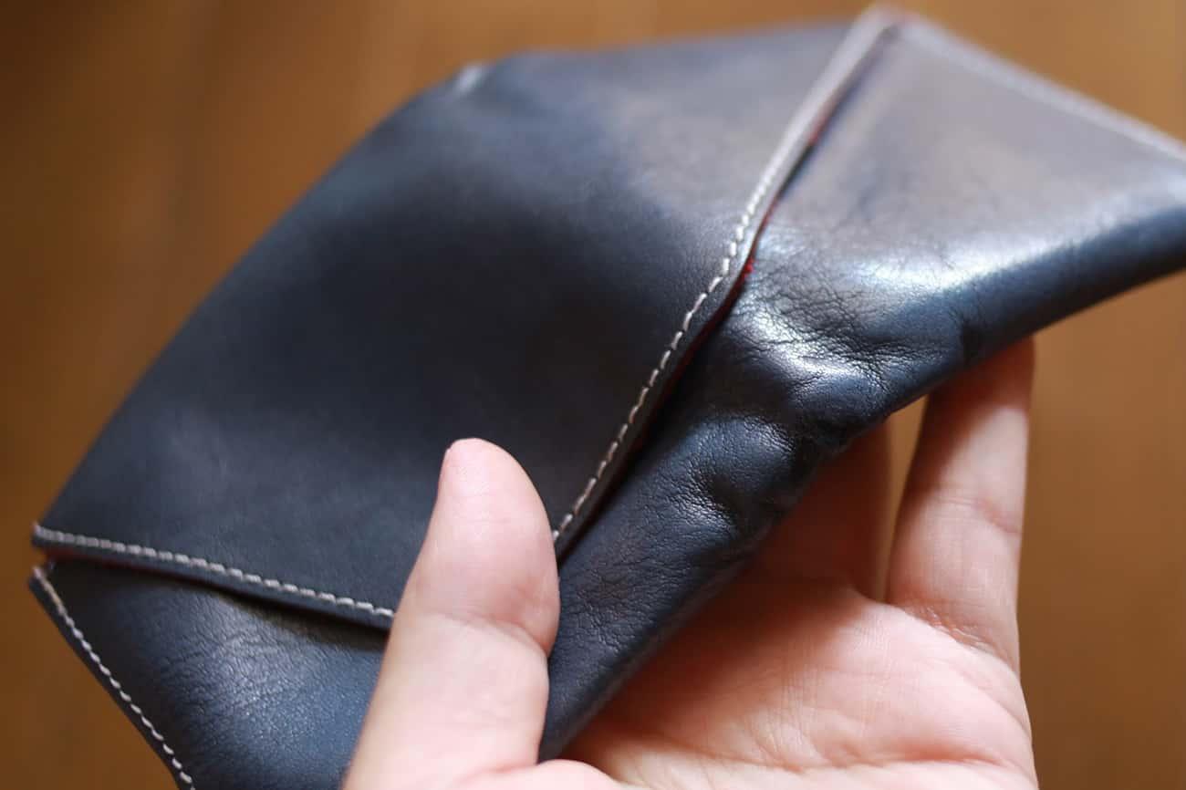 旅行財布:ステッチ