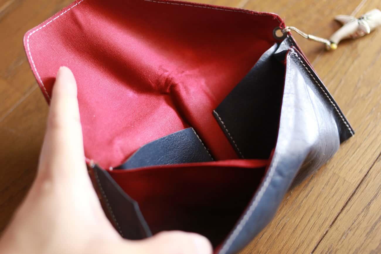 旅行財布:裏地