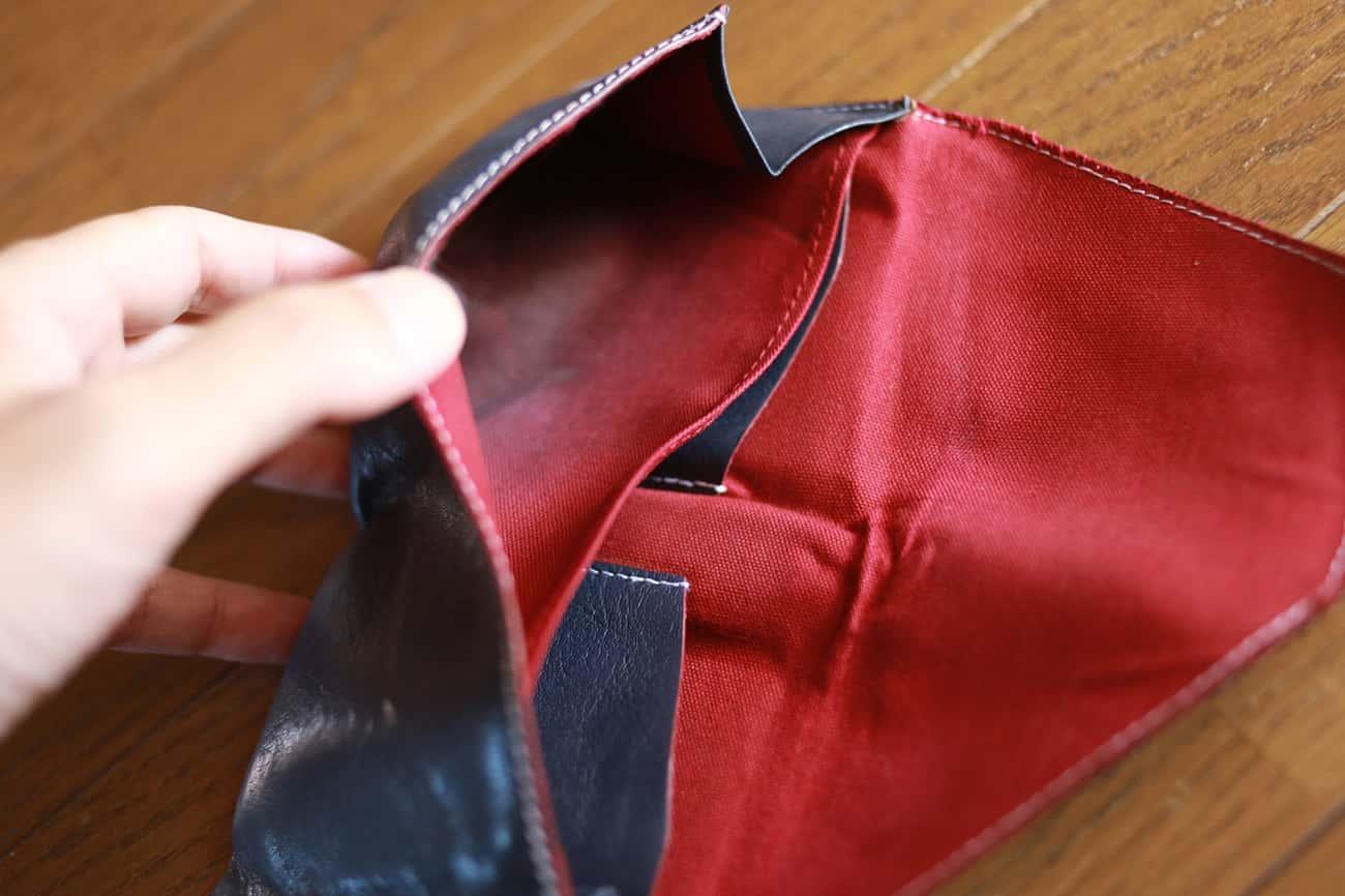 旅行財布:小銭入れの色