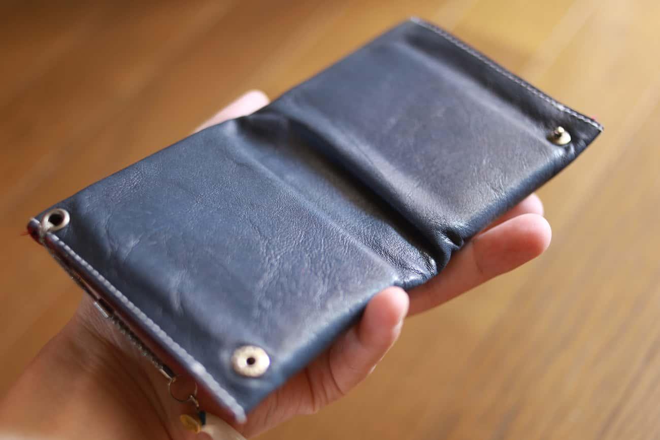 旅行財布:裏