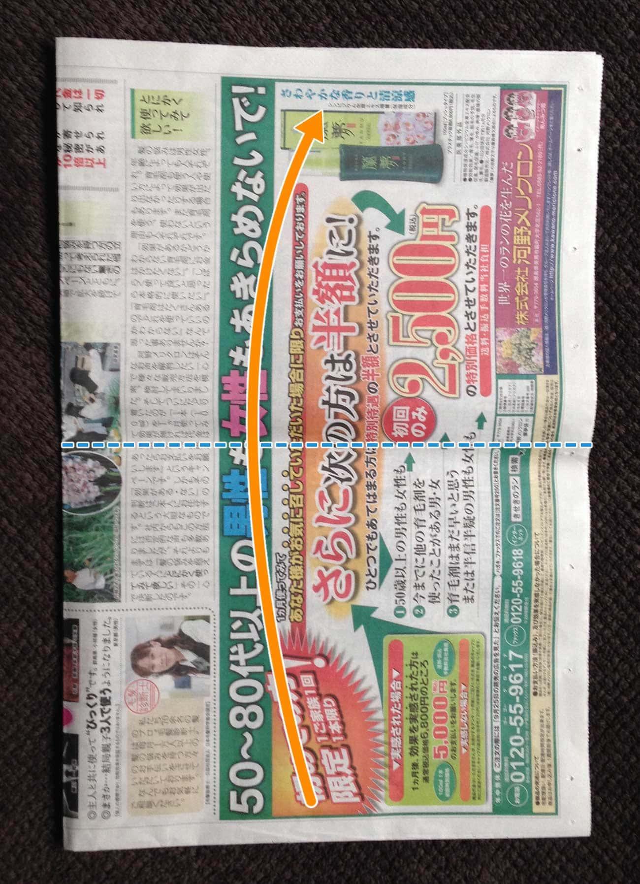 新聞紙で作る万能タイプゴミ箱:ステップ3