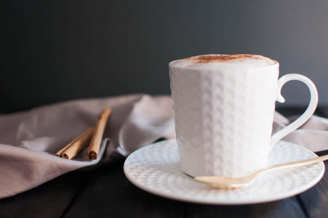 ブラックコーヒーアレンジ:カプチーノ