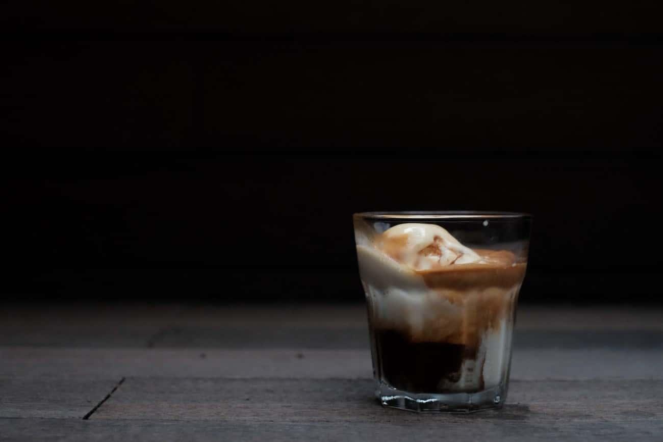 ブラックコーヒーアレンジ:アフォガード