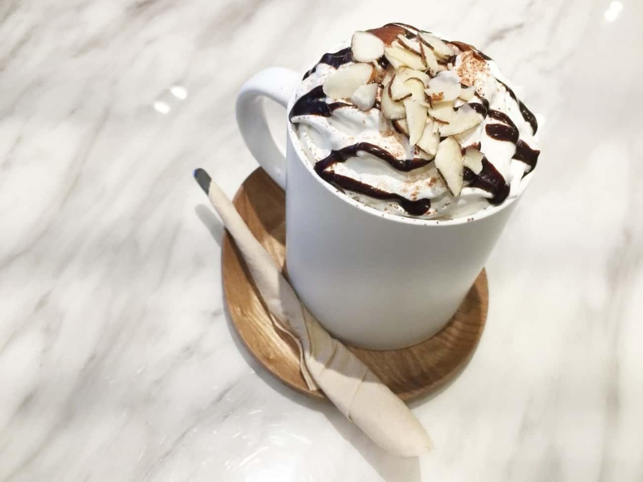 ブラックコーヒーアレンジ:カフェモカ