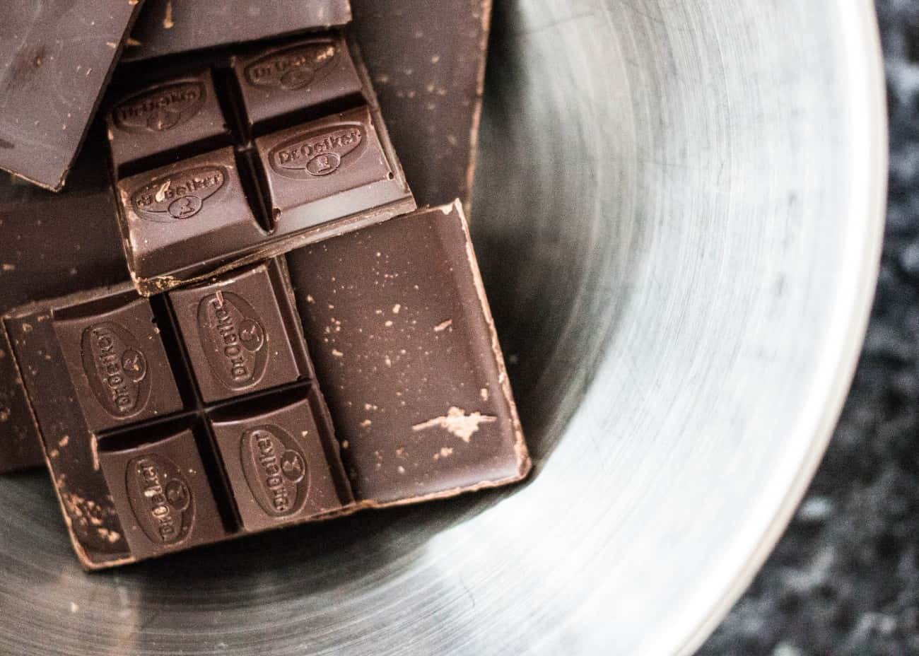 ブラックコーヒーちょい足し:チョコレート