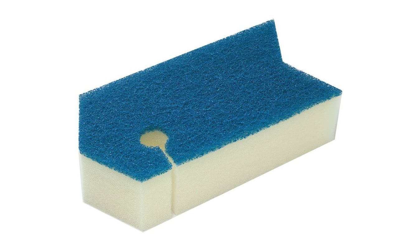風呂掃除スポンジ収納
