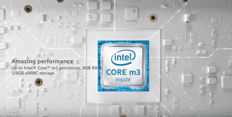asus chromebook c425 CPU Intel Core M3-8100Y