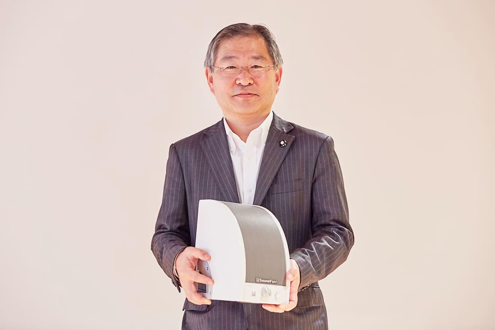ミライスピーカーのサウンドファン創業者佐藤さん