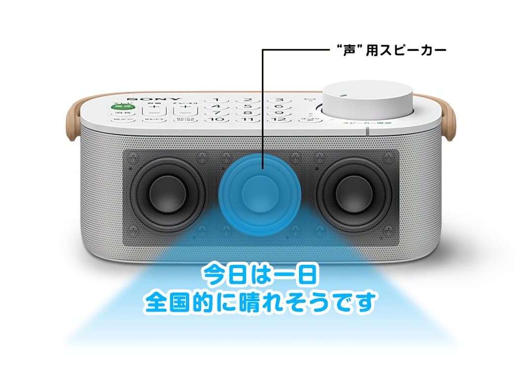 SONY SRS-LSR200 声用スピーカー