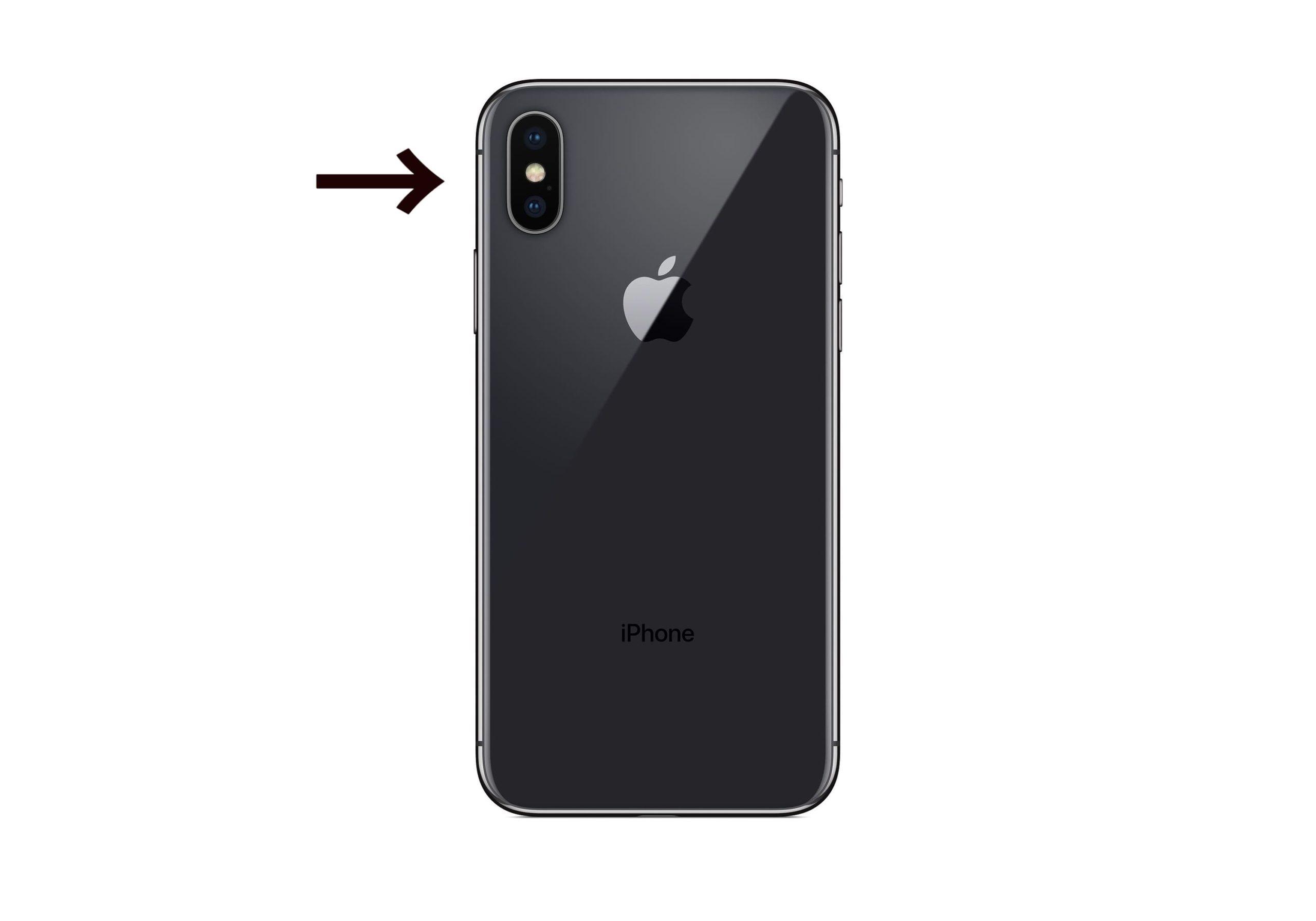 iPhone 背面 フラッシュ通知